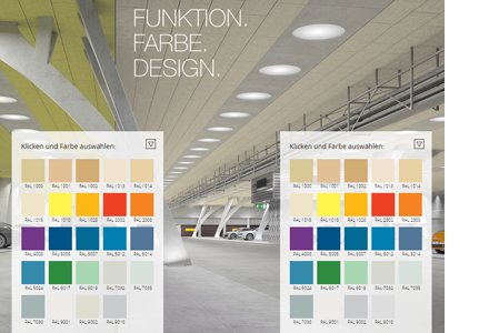 Funktion Farbe Design